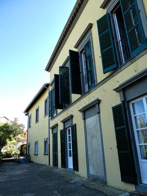 Nordseite der Palazzina del Mulini, Residenz von Napoleon