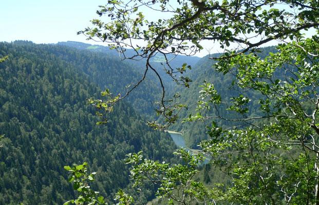 Letzter Blick auf den Doubs