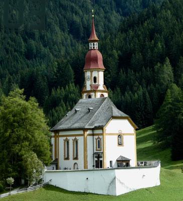 Die Kirche von Oberberg