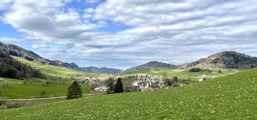 Blick über Bretzwil