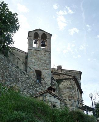 Die Kirche von Barbischio