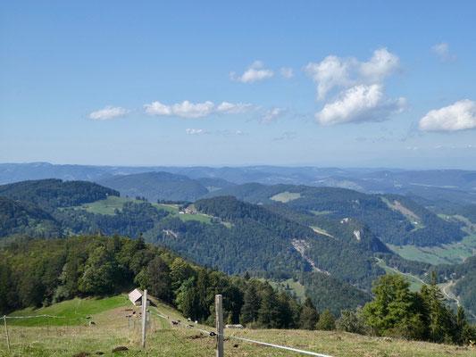 Blick zum Trogberg