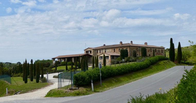 Weingut Santavenere, der Familie Triacca