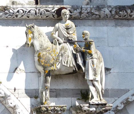 San Marino auf der Fassade