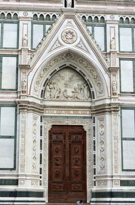 Portal der Basilica di Santa Croce