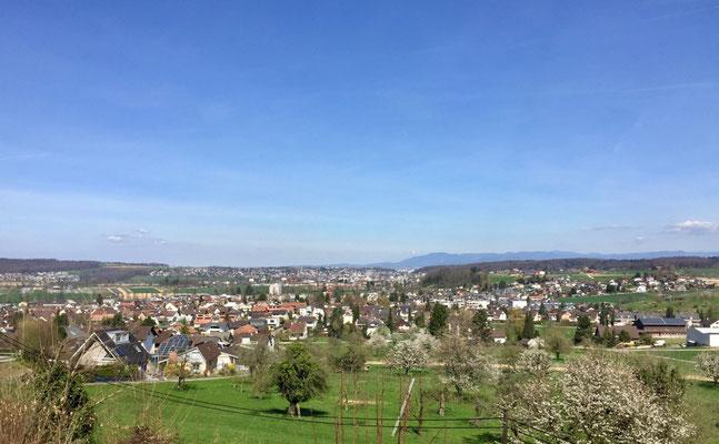 Blick über Ettingen