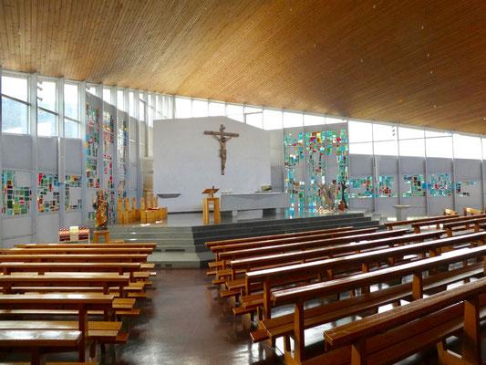 in der Kirche von Vicques