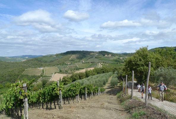 Aufstieg nach Castagnoli