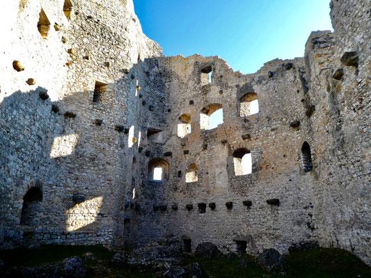 Innenhof im Schloss