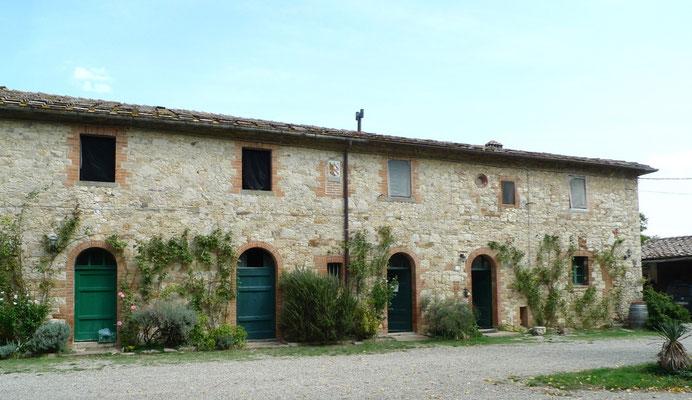 San Giusto a Rentennano, das ehemalige Zisterzienserkloster