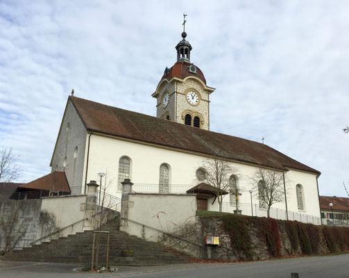 Kirche von Charmoille
