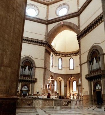 Altar unter der Kuppel der Kathedrale Santa Maria del Fiore