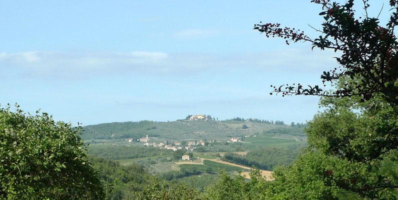 Aussicht von San Giusto a Rentennano