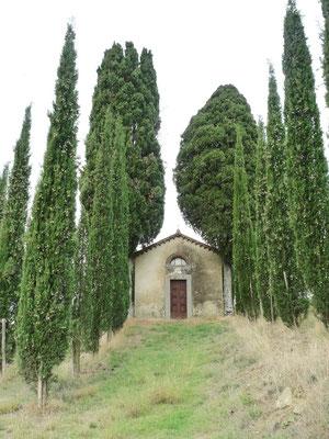 Kapelle auf dem Weg nach San Felice