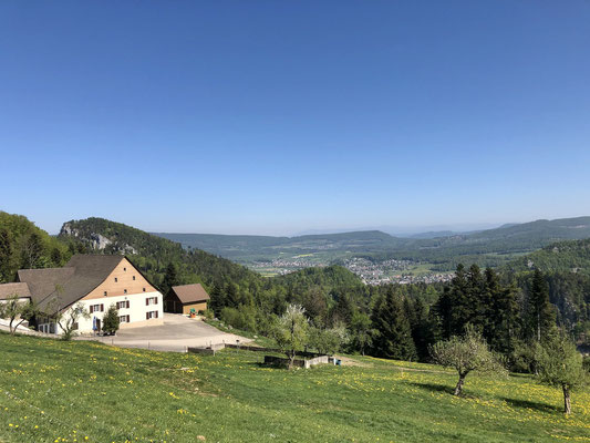 Blick vom Oberbergli