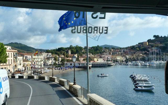 Anfahrt Porto Azzurro