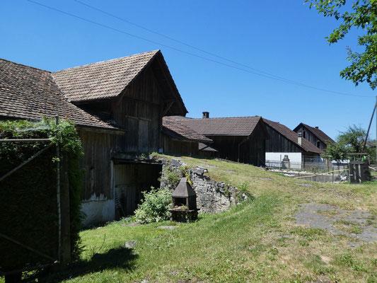 Impression im Dorf Soulce
