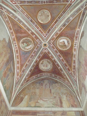 Decke der angebauten Kapelle