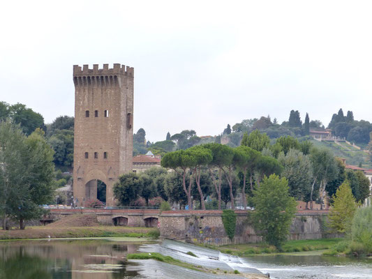 Porta San Niccolò, rechts den Giardino Bardini