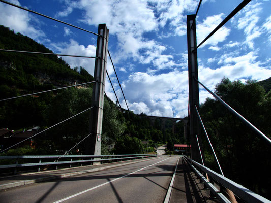 Doubs-Brücke in St. Ursanne
