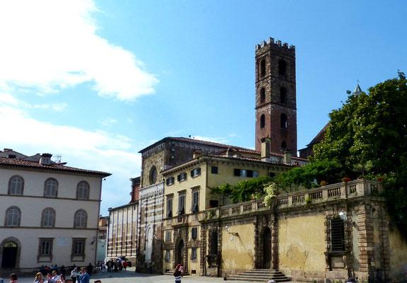 Rückseite der Kirche San Michele