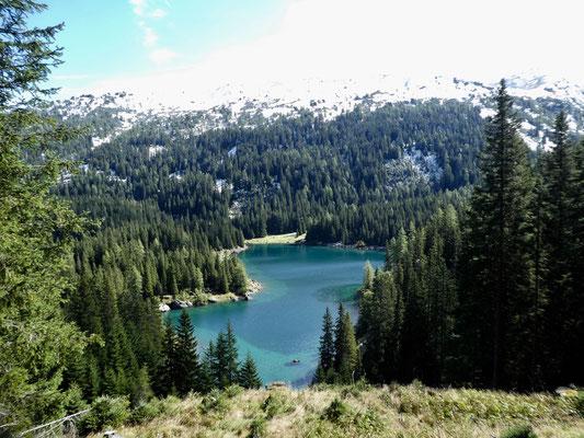 Blick auf den Oberbergersee