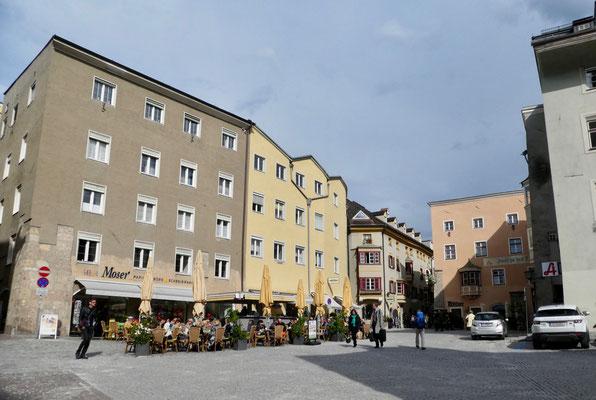 Oberer Marktplatz in Hall