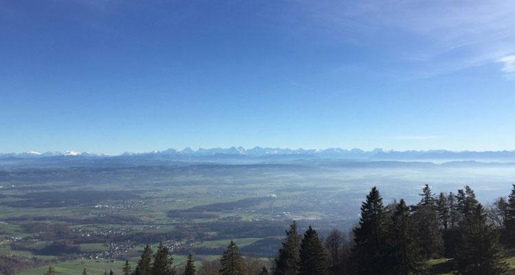 Schlusspunkt mit Panoramablick