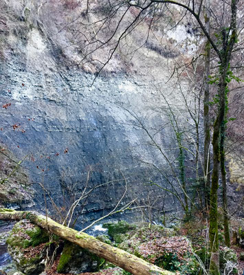 Einzigartige geologische Schichten