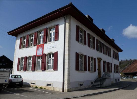 Gemeindehaus von Courchapoix