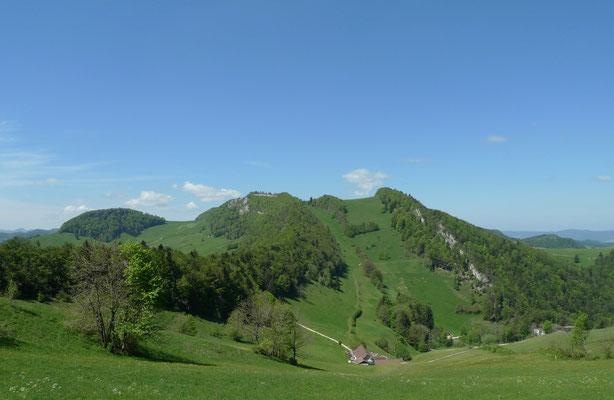 Blick zum Vogelberg