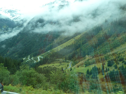 Passstrasse der Silvretta Hochstrasse