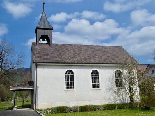 Kapelle im Dorfteil Recolaine
