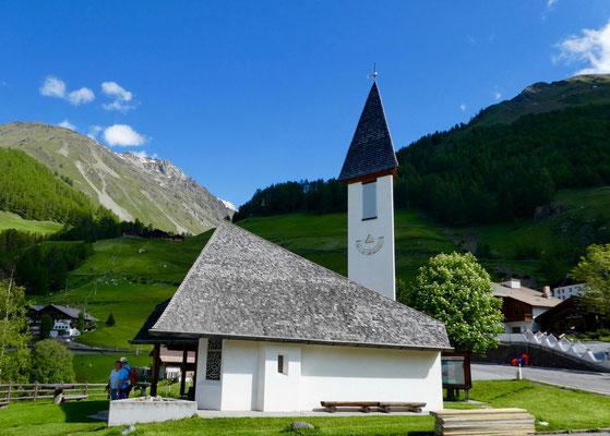 Neue Kirche von Vernagt