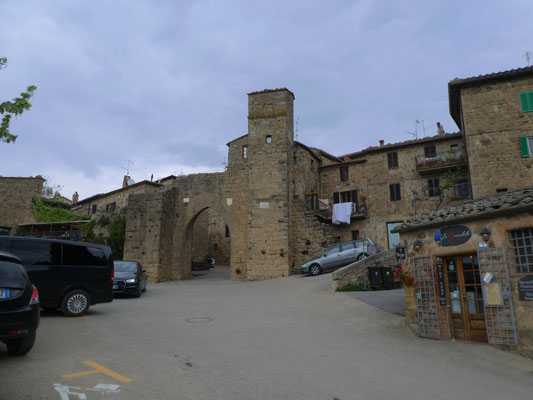 Stadttor von Monticchiello