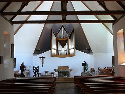 Chor der Kirche von Lajoux