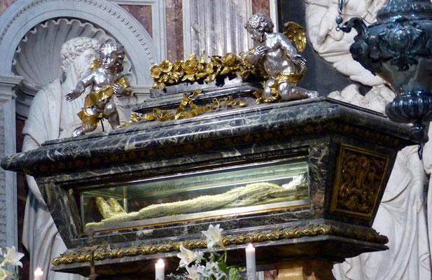 Sarkophag des heiligen Rainers,  Schutzpatrons von Pisa