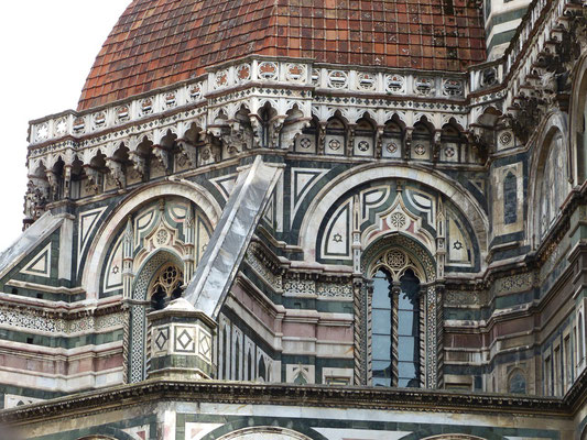 Kumpelunterbau der Kathedrale Santa Maria del Fiore