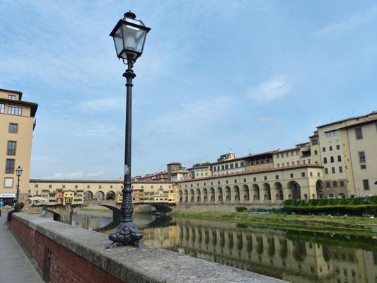 Ponte Vecchio mit der Verbindung zur Ufficie