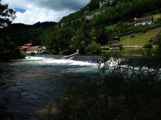 Doubs in St. Ursanne