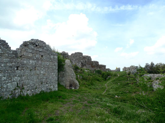 Castello auf dem Monte Verruca