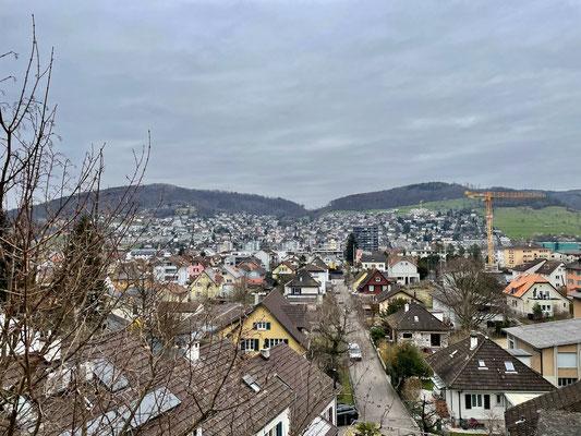 Blick über Frenkendorf nach Füllinsdorf