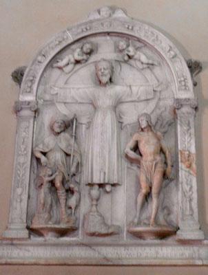 im Innern der Kirche San Pietro