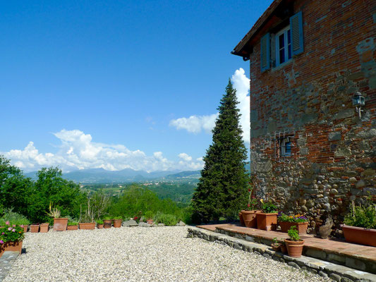 Blick von San Martino in Colle