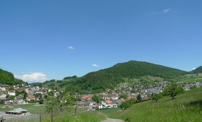 Ankunft in Oberdorf