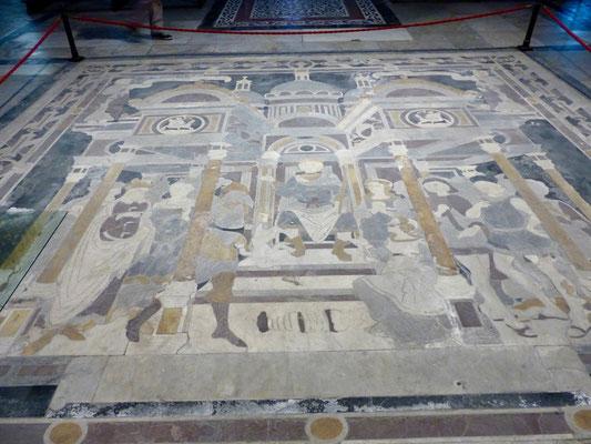 Mosaik als Teil des Fussbodens