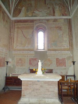Chor der angebauten Kapelle