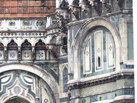 Detail der Nordfassade