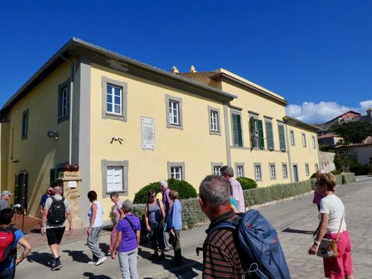 Palazzina del Mulini, Residenz von Napoleon