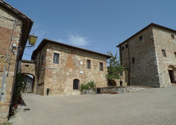 Piazza delle Carceri von Murlo